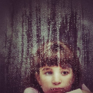 Kid and window