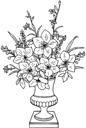 lily-black-and-white-clipartfree